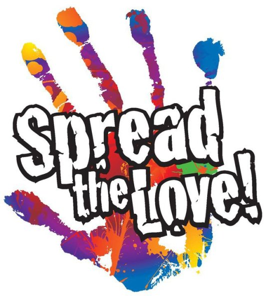 Image result for spread the love