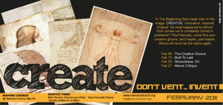 The Create Series Flier