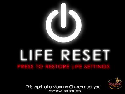 LIFE RESET-website